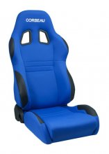 Corbeau A4 Reclinable Seat in Blue Cloth