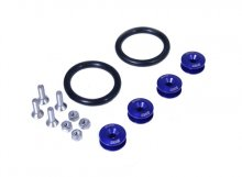 BLACKWORKS QUICK RELEASE FASTENERS SET - BLUE