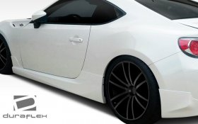 2013-2014 Scion FR-S Subaru BRZ Duraflex X-5 Side Skirts Rocker Panels - 2 Piece