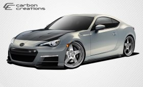 2013-2014 Scion FR-S Subaru BRZ Carbon Creations 86-R Body Kit - 6 Piece - includes the led light