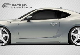 2013-2014 Scion FR-S Subaru BRZ Carbon Creations 86-R Side Skirts Rocker Panels - 2 Piece