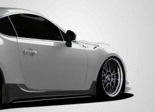 2013-2014 Scion FR-S Subaru BRZ Carbon Creations TD3000 Side Skirts Rocker Panels - 2 Piece