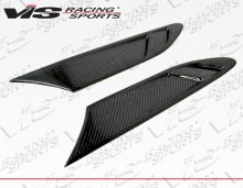 VIS Racing 2014 - 2014 Scion FR-S Subaru BRZ FS Style Carbon Fiber Fender Vents