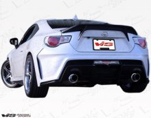 VIS Racing 2dr Alfa Rear Bumper 2013-2013 Scion FRS