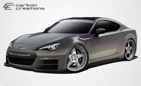 2013-2014 Scion FR-S Subaru BR-Z Carbon Creations 86-R Wide Body Kit - 8 Piece