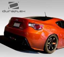 Extreme Dimensions Duraflex ST-C Rear Under Spoiler Air Dam Lip Splitters Scion FR-S Subaru BRZ 2013-2014
