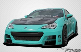 2013-2014 Scion FR-S Subaru BR-Z Carbon Creations 86-R Wide Body Kit - 10 Piece