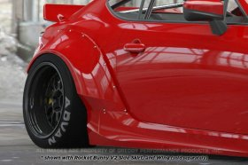 Greddy Rocket Bunny 86 Aero, Ver.2 - Rear Fenders (only) Scion FR-S and Subaru BRZ