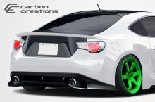 2013-2014 Scion FR-S Subaru BRZ Carbon Creations GT Concept Rear Bumper Cover - 1 Piece
