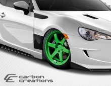 2013-2014 Scion FR-S Subaru BRZ Carbon Creations GT Concept Fenders - 2 Piece