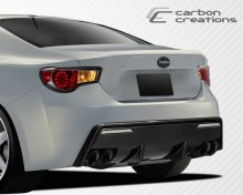 2013-2014 Scion FR-S Subaru BRZ Carbon Creations 86-R Rear Bumper Cover - 1 Piece
