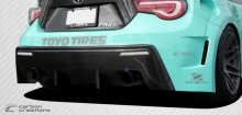2013-2014 Scion FR-S Subaru BRZ Carbon Creations 86-R Wide Body Rear Bumper Cover - 1 Piece