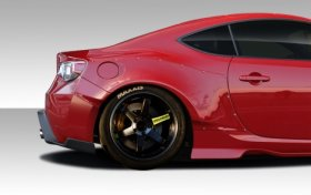 Extreme Dimensions Duraflex GT500 Wide Body Rear Fenders Scion FR-S BRZ 2013-2014