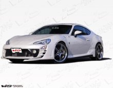 VIS Racing 2dr Alfa Side Skirts 2013 Scion FRS
