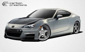 2013-2014 Scion FR-S Subaru BRZ Carbon Creations 86-R Body Kit - 6 Piece