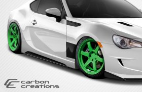 2013-2014 Scion FR-S Subaru BRZ Carbon Creations GT Concept Side Skirts Rocker Panels - 2 Piece