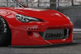 Greddy Rocket Bunny 86 Aero, Ver.2 - Front Bumper (only) Scion FR-S and Subaru BRZ