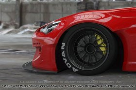 Greddy Rocket Bunny 86 Aero, Ver.2 - Front Splitter Scion FR-S and Subaru BRZ