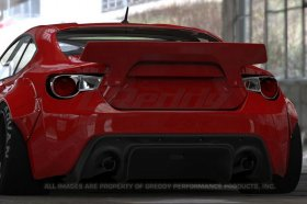 Greddy Rocket Bunny 86 Aero, Ver.2 - Rear Duck Tail Wing?(only) - Scion FR-S and Subaru BRZ