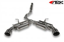 ARK GRiP Polished Tip Exhaust System 2014+ Scion FR-S Subaru BRZ