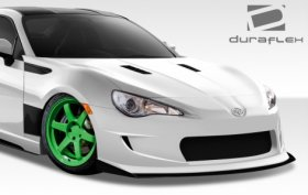 2013-2014 Scion FR-S Subaru BRZ Duraflex GT Concept Front Under Spoiler Air Dam Lip Splitter - 1 Piece
