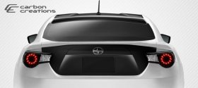 2013-2014 Scion FR-S Subaru BRZ Carbon Creations GT Concept Roof Wing Spoiler - 1 Piece