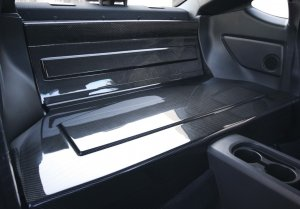 Seibon REAR SEAT PANELS 2012-2014 SUBARU BRZ Scion FRS