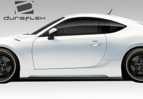 2013-2014 Scion FR-S Subaru BRZ Duraflex 86-R Side Skirts Rocker Panels - 2 Piece