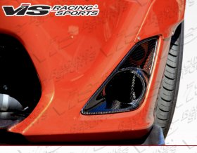 VIS Racing 2014 - 2014 Scion FR-S Subaru BRZ Pro Line Carbon Fog Light Garnish
