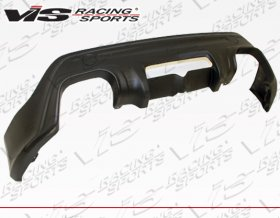 VIS Racing 2014 - 2014 Scion FR-S Subaru BRZ Techno R Rear Lip