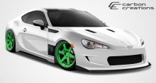 2013-2014 Scion FR-S Subaru BRZ Carbon Creations GT Concept Body Kit - 5 Piece - Includes GT Concept Front Bumper Cover