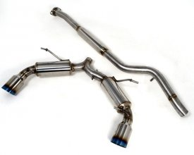 AGENCY POWER CATBACK EXHAUST SCION FR-S TOYOTA GT-86 SUBARU BRZ 13