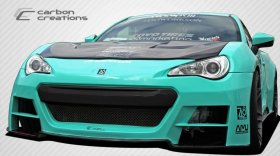2013-2014 Scion FR-S Subaru BRZ Carbon Creations 86-R Wide Body Front Bumper Cover - 1 Piece