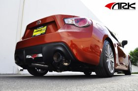 ARK GRiP Burnt Tip Exhaust System 2014+ Scion FR-S Subaru BRZ