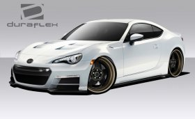 2013-2014 Scion FR-S Subaru BRZ Duraflex 86-R Body Kit - 6 Piece