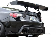 GReddy X Rocket Bunny 86 Aero, Ver.1 - Rear Under Diffuser (only) Scion FR-S and Subaru BRZ