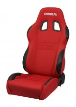 Corbeau A4 Reclinable Seat in Red Cloth