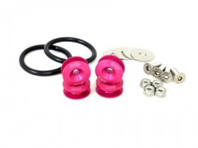 BLACKWORKS QUICK RELEASE FASTENERS SET - PINK