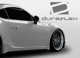 2013-2014 Scion FR-S Subaru BRZ Duraflex TD3000 Side Skirts Rocker Panels - 2 Piece