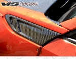 VIS Racing 2014 - 2014 Scion FR-S Subaru BRZ Pro Line Carbon Fiber Fender Vents